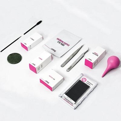 Eyelash extension kits at top beauty training school in bishop's stortford, hertfordshire essex